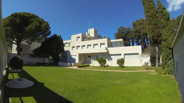 Villa Noailles vue du jardin