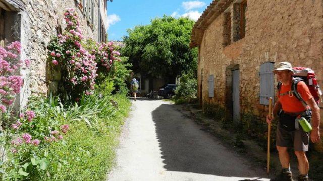 Le Thoronet - Les Camails - Chemin de St Jacques de Compostelle