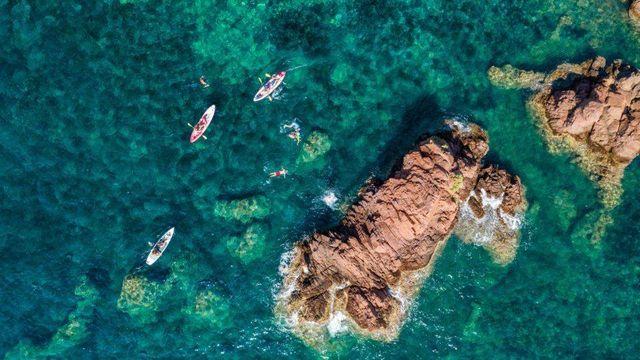 DJI_0088-Estérel Cote d'Azur paddle