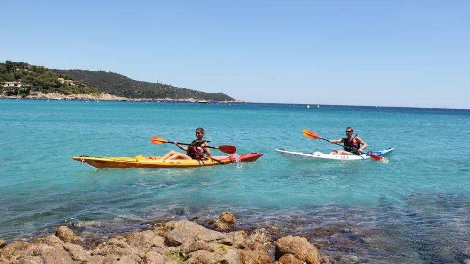 Balade en Kayak vers Ramatuelle