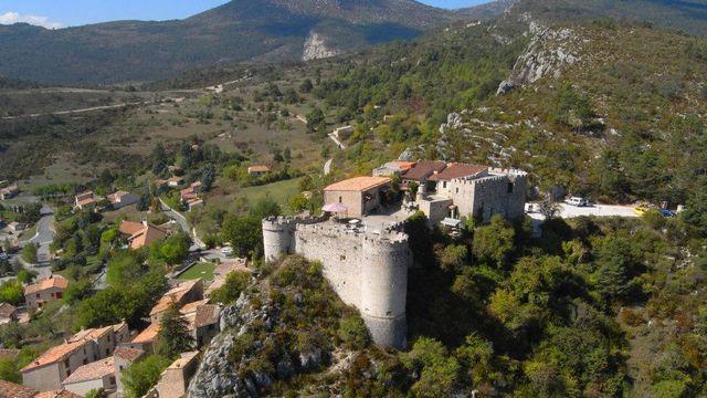 Le Chateau à Trigance