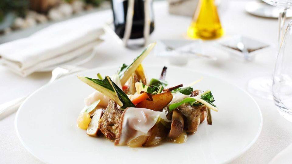 Assiette provençale - L'Hostellerie Berard