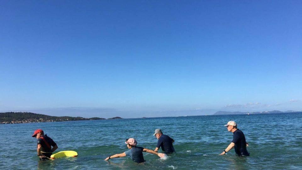 Marche aquatique a l'Almanarre