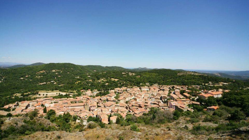 Village dans le Massif des Maures