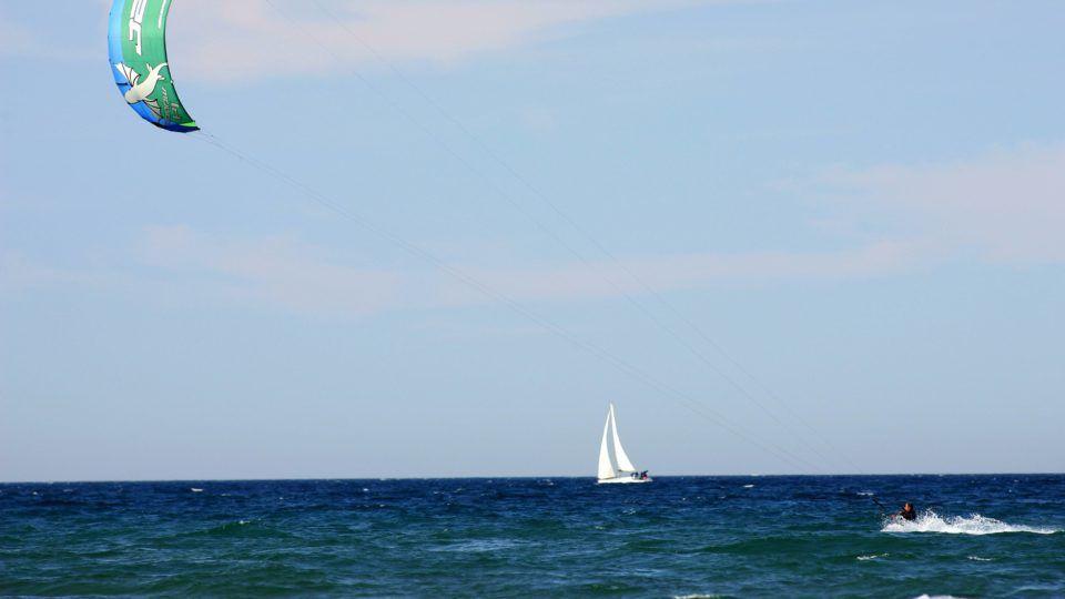 Activité nautique Var - Voile et kite surf