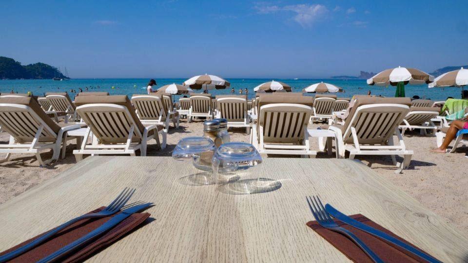Tiki Beach à Saint-Cyr-sur-Mer