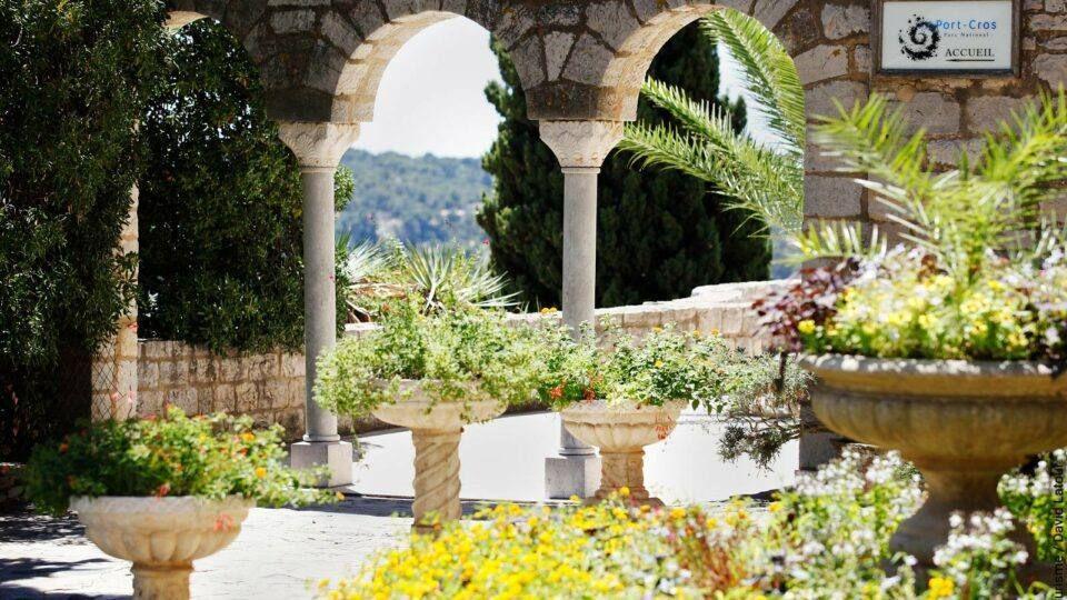 Parc du Castel Sainte Claire à Hyères