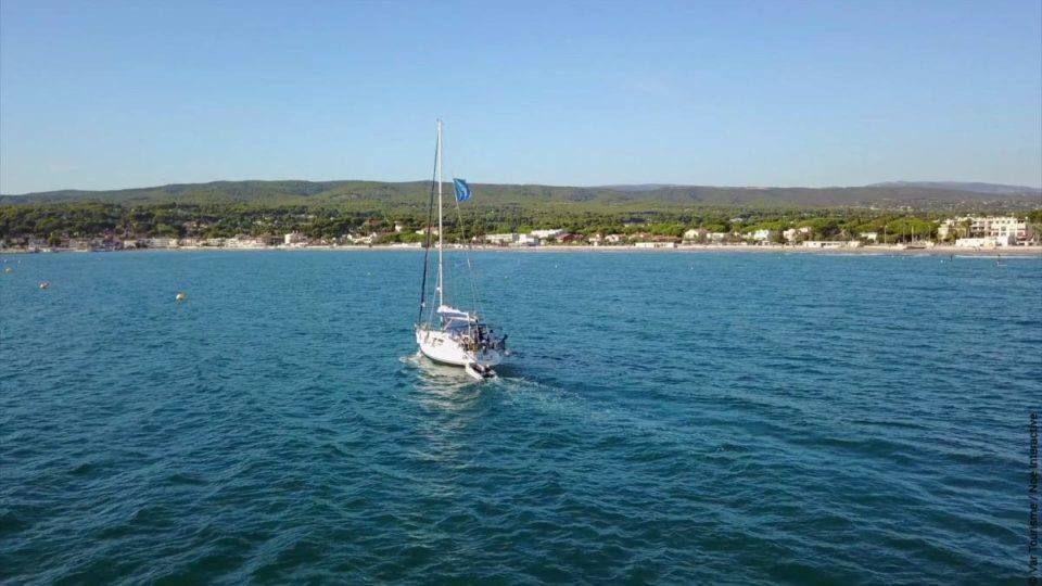 Au large de Saint-Cyr-sur-Mer
