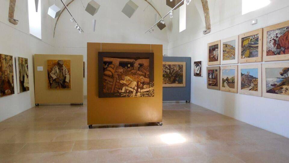 Intérieur du Centre d'Art La Falaise