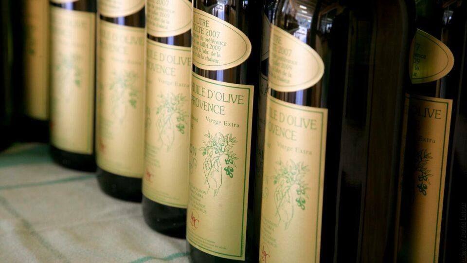Huile d'olive du Domaine Jasson