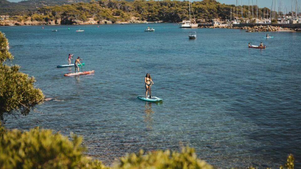 Bateau paddle et canoe