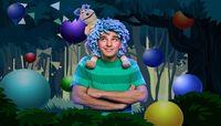 Το αγόρι με τα μπλε μαλλιά