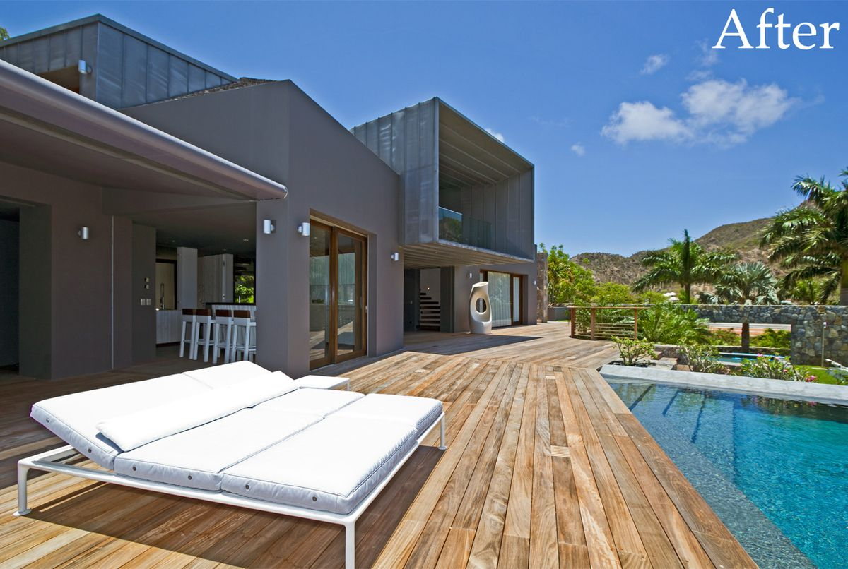 Villa Dunes after renovation by Bureau Xavier David.