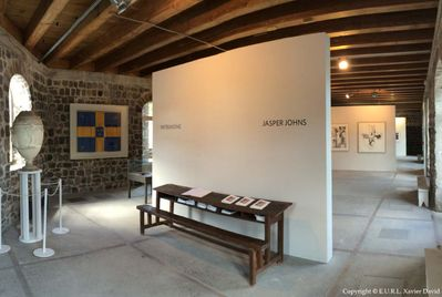Wall House Museum Jasper Johns Exhibition - Museum Renovation & Construction of an Art Exhibition in Gustavia