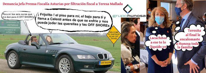 TERESA MALLADA Y HUNOSA Y LAS GRAVES DIFAMACIONES A MIGUEL DELGADO AL SENADO; GRACIAS HERMANOS, DESDE GALICIA CON DOLOR.