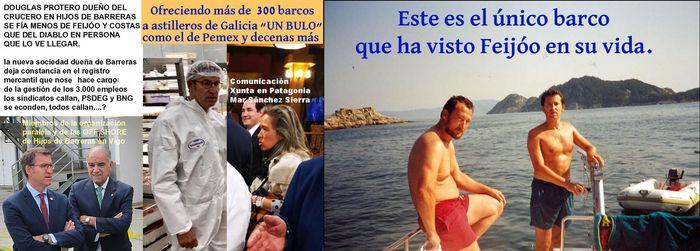Feijóo pretendió hacer negocios de petroleo en nombre de Pemex en Argentina y gestionar sociedades opacas OFF SHOREs que aprendió con Marcial Dourado.