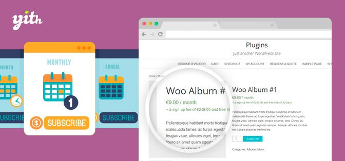 YITH WooCommerce Subscription Premium v1.1.7