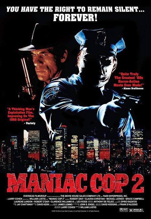 Maniac Cop 2 1990 FRENCH DVDRip x264-GDLN