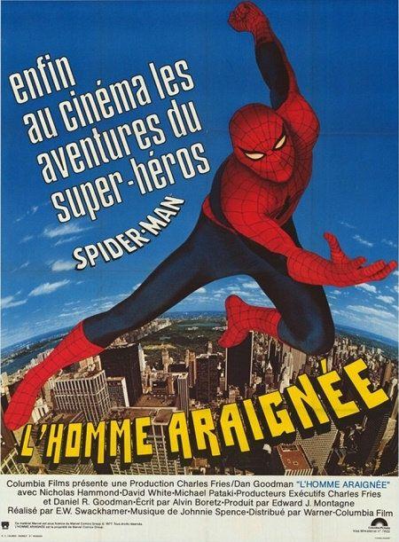 L homme araignée (spiderman) VHS-RIP FRENCH 1978 x264 NO-TAG