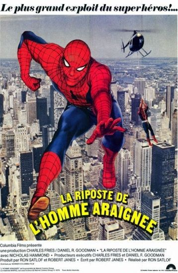 La riposte de l homme araignée (spiderman) VHS-RIP FRENCH 1978 x264 NO-TAG