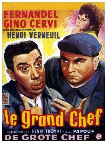 Le grand chef - Fernandel 1959 Rediff HDTV 1080i Full TS AC3 N/B