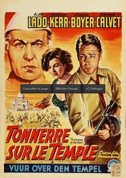 Tonnerre sur le temple -Alan Ladd, Deborah Kerr 1951 Rediff HDTV 1080i Full TS AAC N/B
