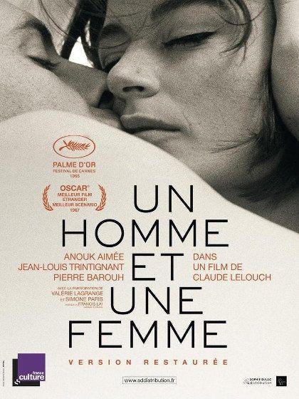 Un homme et une femme - Anouk Aimée, Jean-Louis Trintignant 1966 Rediff HDTV 1080i Full TS AC3