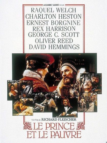 Le prince et le pauvre - Oliver Reed, Raquel Welch 1977 HDTV 1080i Full AVC TS AAC
