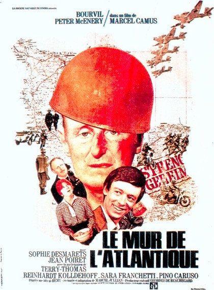 Le mur de l'Atlantique - André Bourvil, Jean Poiret 1970 HDTV 1080i Full AVC TS AAC