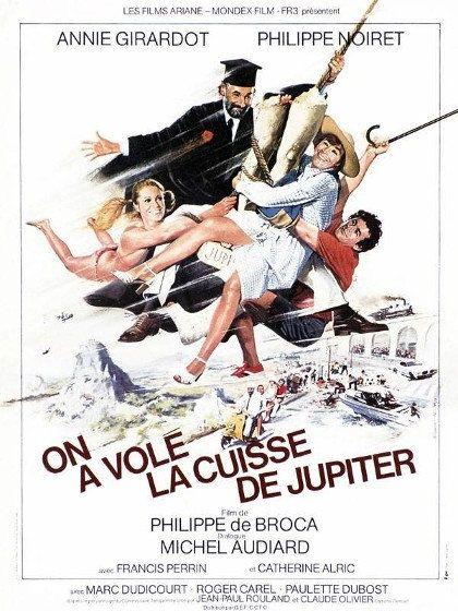 On a volé la cuisse de Jupiter - Philippe Noiret, Annie Girardot 1980 HDTV 1080i Full AVC TS AC-3