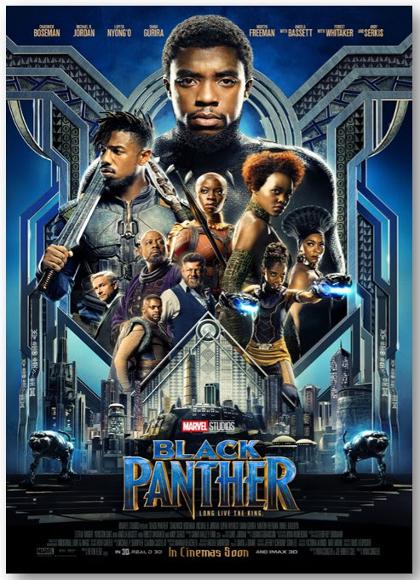Black Panther - Chadwick Boseman 2018 HDTV 1080 Full AVC MKV AC-3