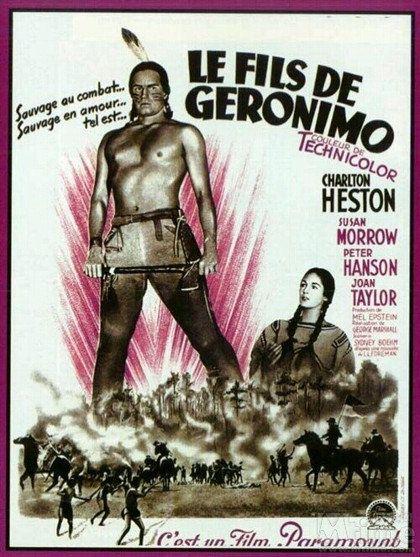Le fils de Géronimo - Charlton Heston 1952 HDTV 1080 Full AVC TS AAC