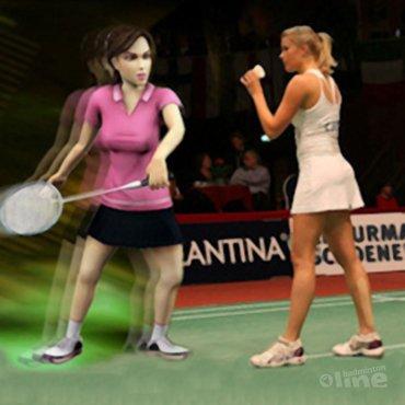Badmintonnen op je iPhone