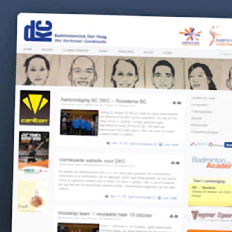 Vernieuwde website voor BC DKC - CdR