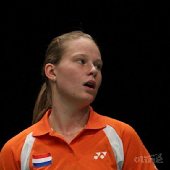 Vier koppels door naar 2e ronde damesdubbel - Alex van Zaanen