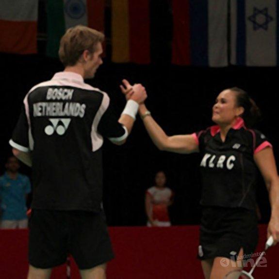 Overzicht van de kwartfinales met Nederlandse deelnemers - Alex van Zaanen