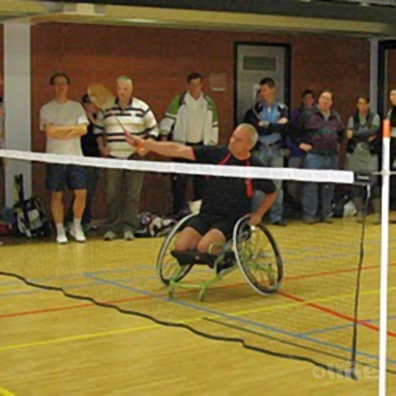 Demo aangepast badminton tijdens Yonex Dutch Open - Eddy Boerman