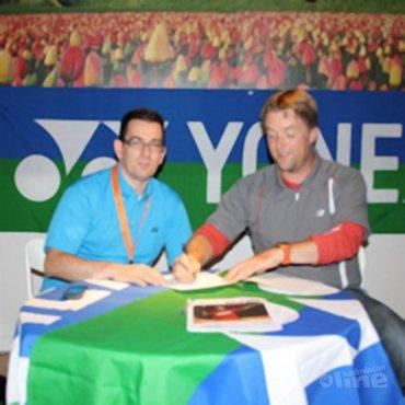 Samenwerking Yonex met CHEMPS zomerkampen en badmintonschool