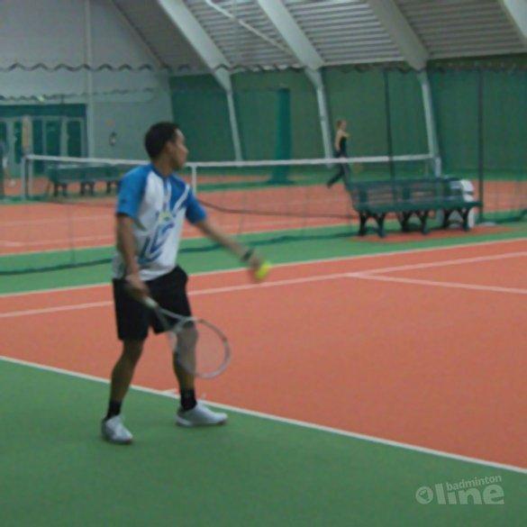 Racketlonnen met Dicky Palyama - Thijs Ronhaar