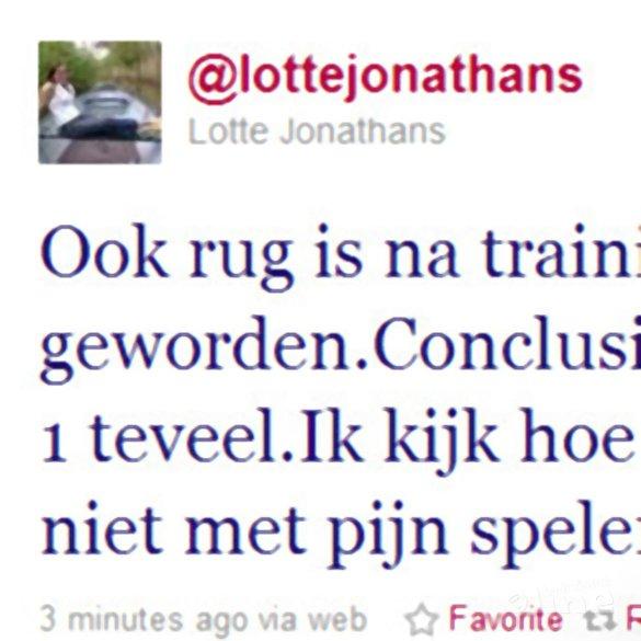 Nederlandse dubbel in Schotland op losse schroeven - Twitter