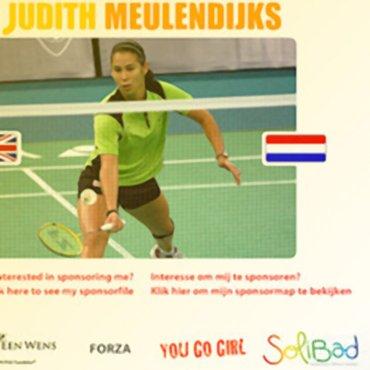 Judith Meulendijks klaar in Bahrein