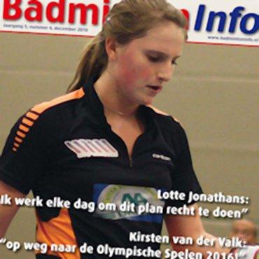 Decembereditie BadmintonInfo staat voor de deur