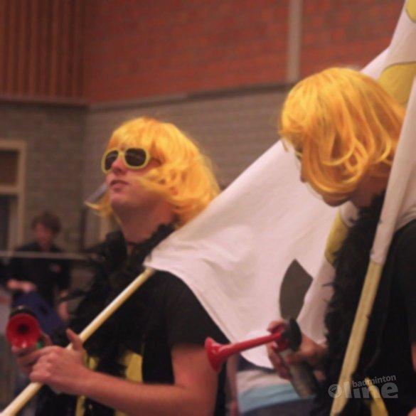 Ssst... hier wordt badminton gespeeld! - Stefan Joosen