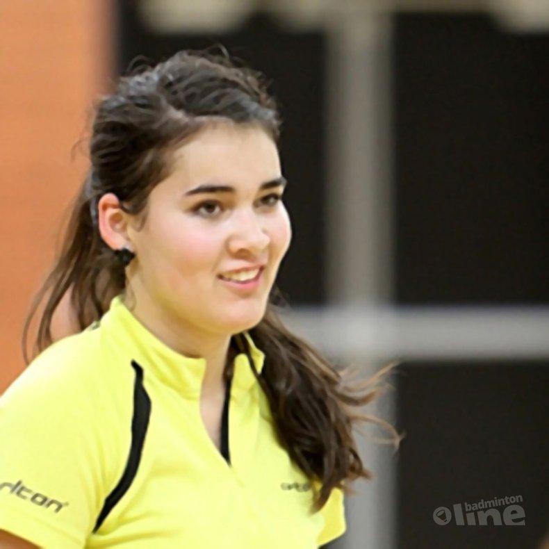 Deze afbeelding hoort bij 'Limburgse successen op NK badminton' en is gemaakt door Alex van Zaanen