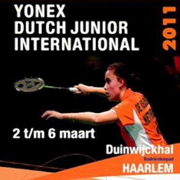 Yonex Dutch Junior ontvangt 200 deelnemers uit 22 landen