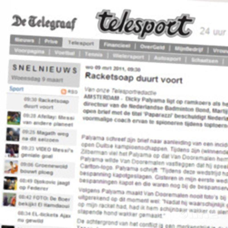 Racketsoap duurt voort - De Telegraaf