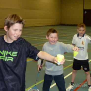 BC Westerbork geeft clinic op basisschool