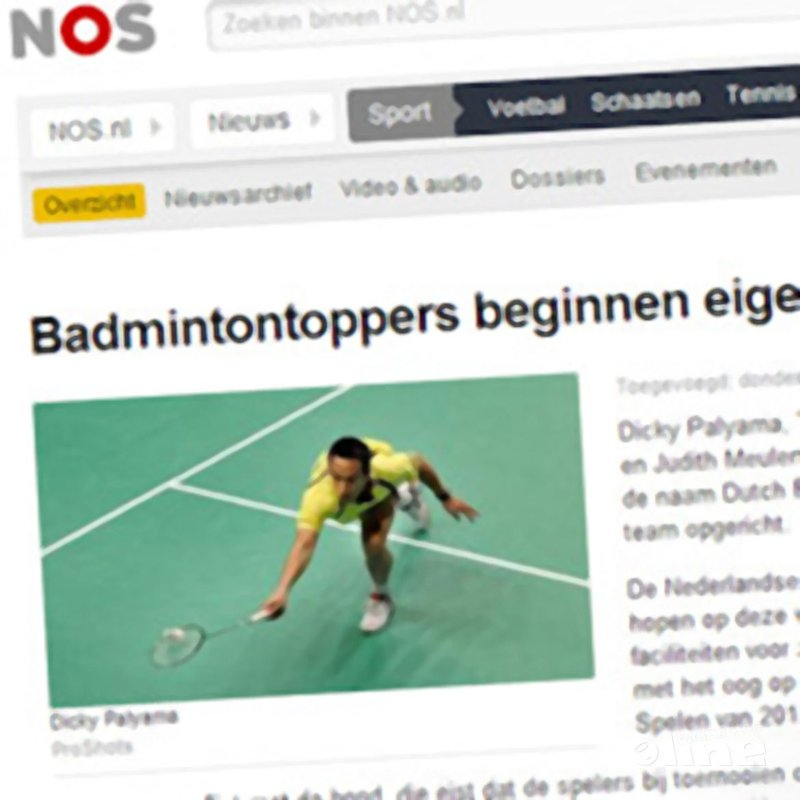 Badmintontoppers beginnen eigen team - NOS Sport