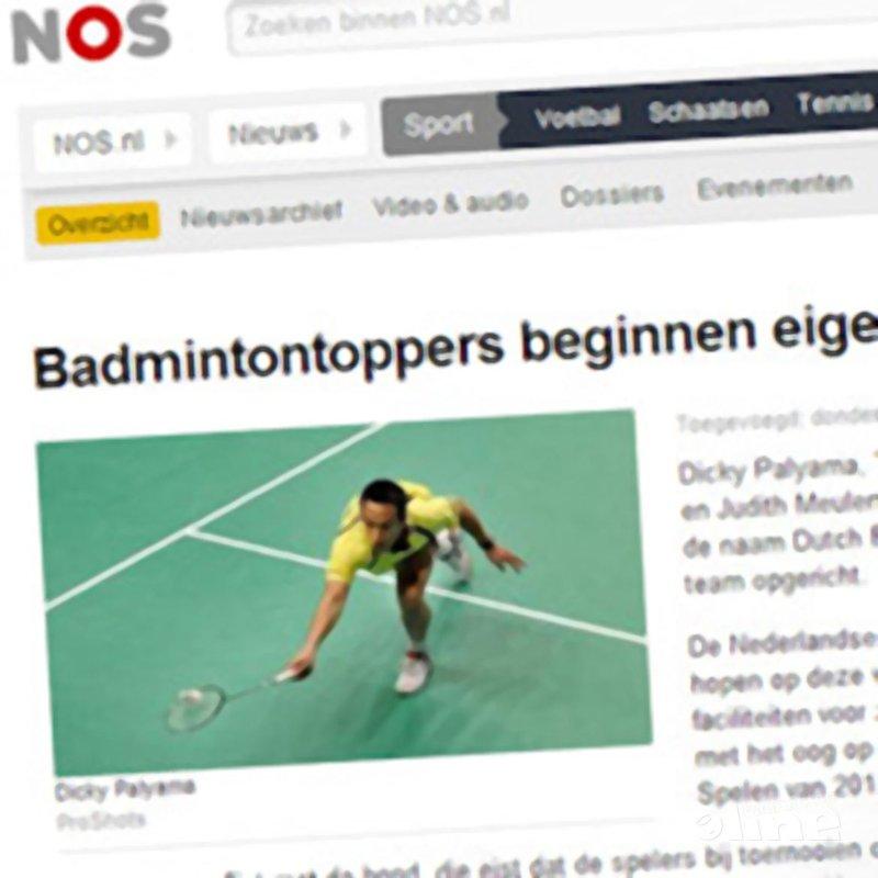 Badmintontoppers beginnen eigen team - NOS Sport