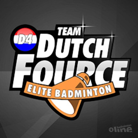 Badmintontoppers richten eigen team op - TEAM Dutch Fource